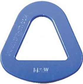 Picture of Aluminum and Steel Triangles