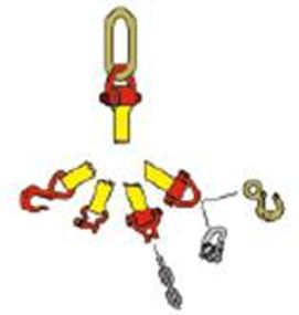 Picture of Single Leg and Double Leg Assemblies
