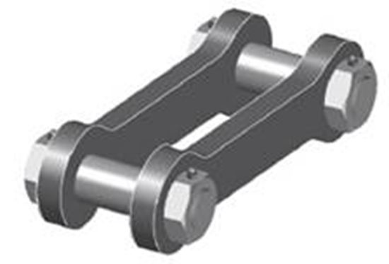 Picture of GN Double Pin Connector Shackle - Type H12