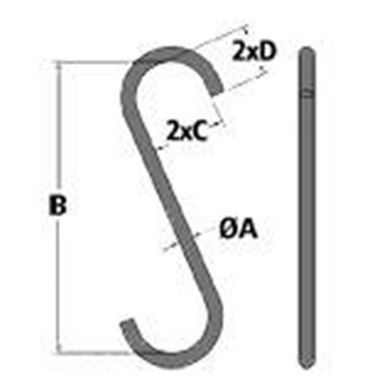 Picture of Alloy Steel S Hook