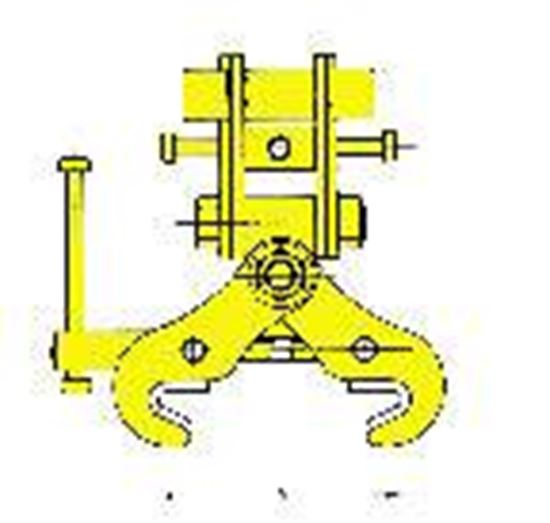 Picture of Adjustable Double Ended Monorail Clamp