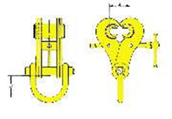 Picture of Swivel Jaw Adjustable Girder Clamp