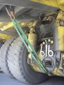 Picture of Haul Truck Dump Body Slings