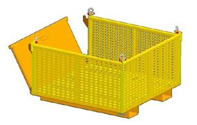 Picture of Material Lifting Basket With Drop Side