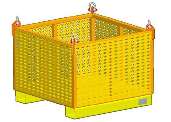 Picture of Material Lifting Basket With Fixed Sides