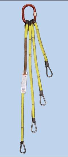 Picture of Tool Bag Bridle - Stainless Carabiners