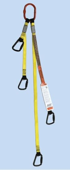 Picture of Tool Bag Bridle - Load Rated Carabiners