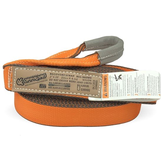 Picture of 4″ Web Recovery Strap
