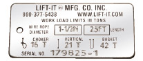 Lift-It® Manufacturing - General Information
