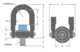 Hoist Ring Diagram